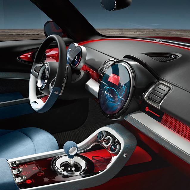MINI Clubman concept interior special effects