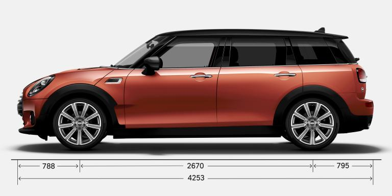 MINI Clubman – parte lateral