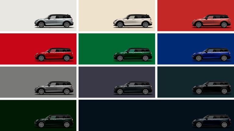 MINI Clubman – color exterior – paleta