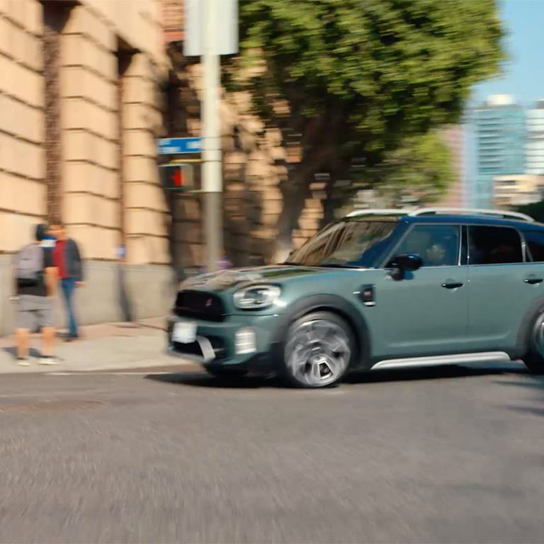 MINI Countryman – on the road