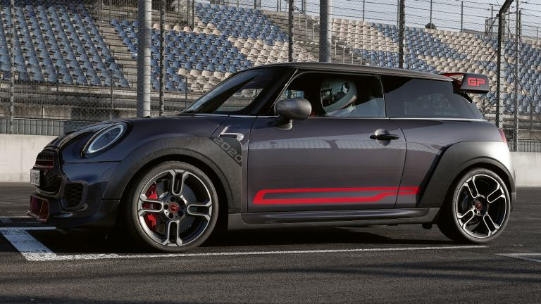 MINI John Cooper Works GP – adhesivos laterales – chili red